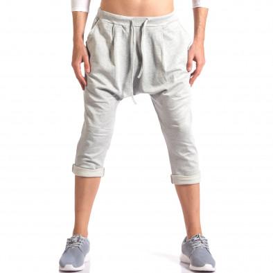 Pantaloni baggy bărbați FCSM gri it260416-38 2