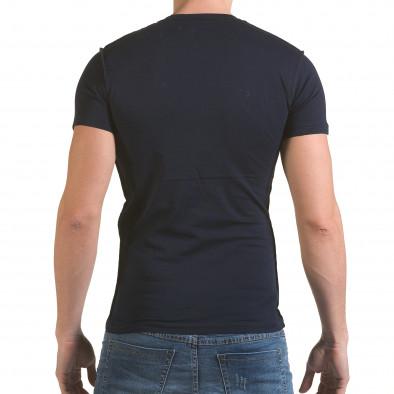 Tricou bărbați SAW albastru il170216-58 3