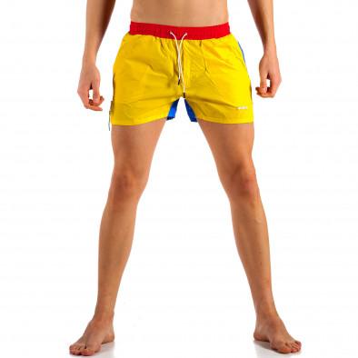 Costume de baie bărbați Justboy curcubeu it230415-22 2