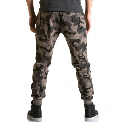 Pantaloni baggy bărbați Belmode camuflaj ca190116-30 3