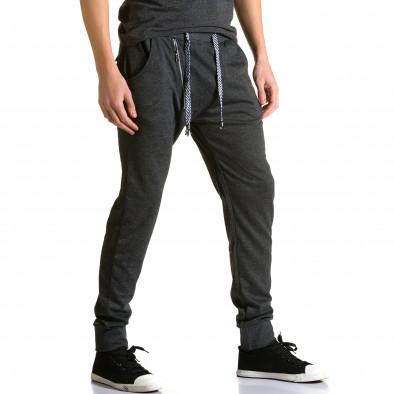Pantaloni baggy bărbați Furia Rossa negri ca190116-16 4