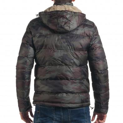 Geacă de iarnă bărbați Adrexx camuflaj it191016-105 3