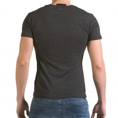 Tricou bărbați SAW gri il170216-64 3