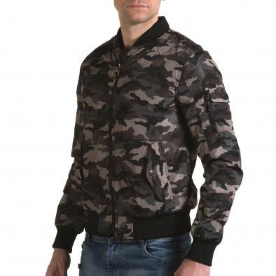 Jachetă de primăvară-toamnă Baci & Dolce verde bărbați it230216-1 4