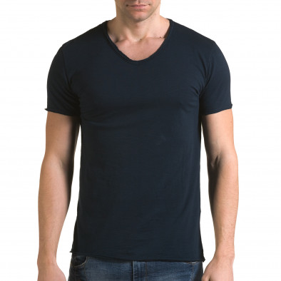 Tricou bărbați FM albastru it090216-75 2