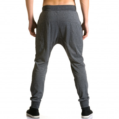 Pantaloni baggy bărbați Furia Rossa gri ca190116-18 3