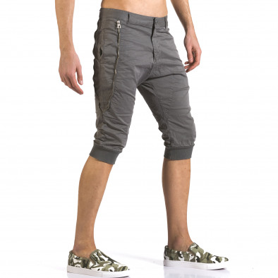 Pantaloni scurți bărbați TMK gri it110316-51 4