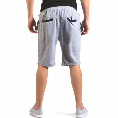 Pantaloni scurți bărbați Dress&GO gri it160316-21 3