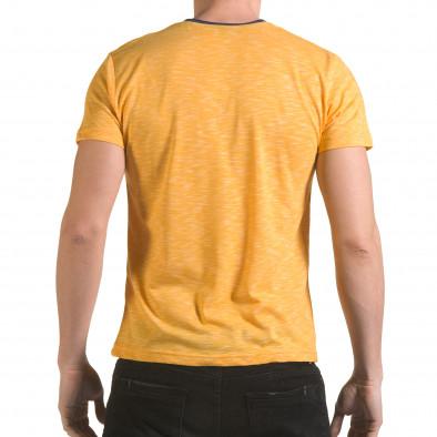 Tricou bărbați Franklin galben il170216-16 3