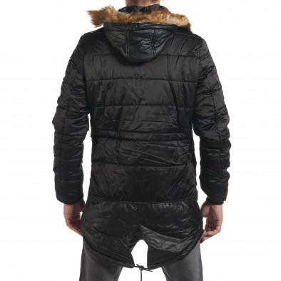 Geacă de iarnă bărbați XZX-Star neagră it190616-11 3