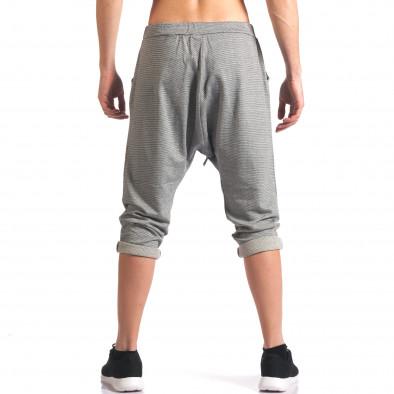 Pantaloni baggy bărbați FCSM gri it260416-37 3