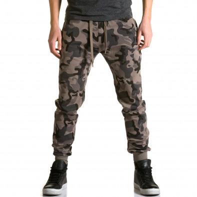 Pantaloni baggy bărbați Belmode camuflaj ca190116-30 2