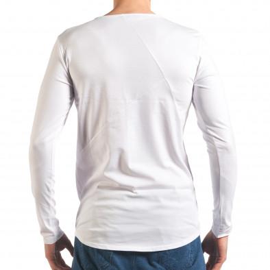 Bluză bărbați Black Fox albă it250416-75 3