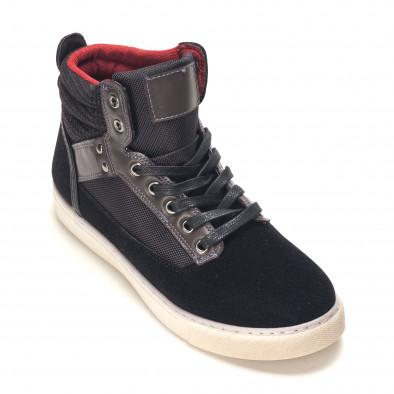 Pantofi sport bărbați Reeca negri it100915-22 3
