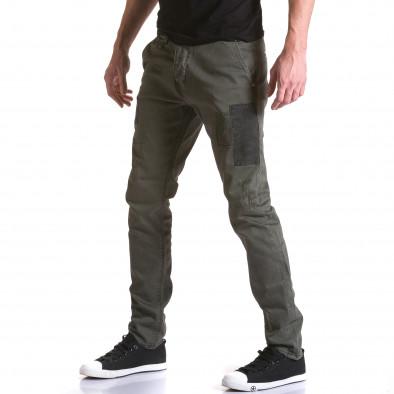 Pantaloni Y-Two verzi bărbați it031215-17 4