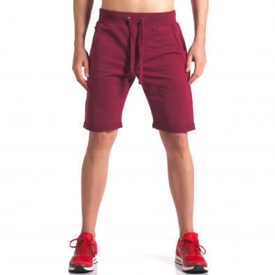 Pantaloni scurți bărbați New Men roșii it260416-25 2