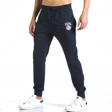 Pantaloni bărbați Marshall albastru it110316-18 4