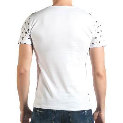 Tricou bărbați Lagos alb il140416-58 3