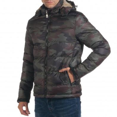 Geacă de iarnă bărbați Adrexx camuflaj it191016-105 4