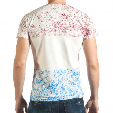 Tricou bărbați Lagos alb il140416-61 3