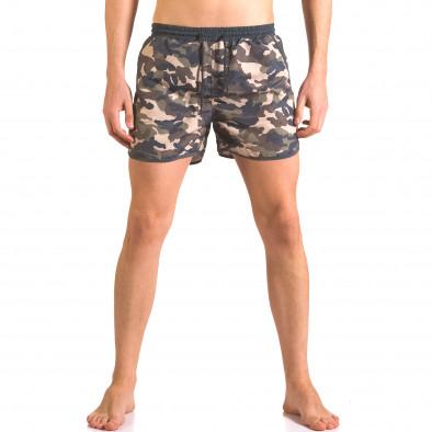 Costume de baie bărbați New Mentality camuflaj ca050416-1 2