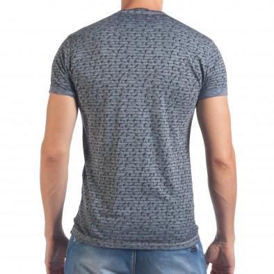 Tricou bărbați Lagos albastru il060616-43 3