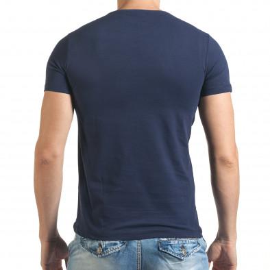 Tricou bărbați Just Relax albastru il140416-24 3