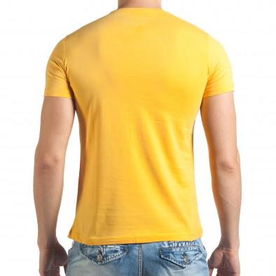 Tricou bărbați Just Relax galben il140416-37 3