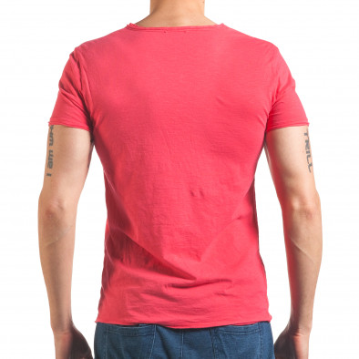 Tricou bărbați FM  roz it260416-48 3