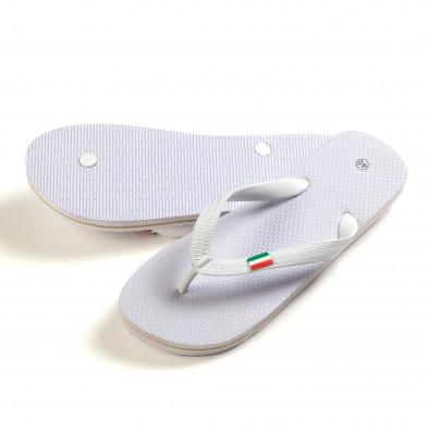 Papuci bărbați FM albi it150616-8 3