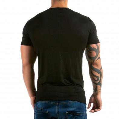 Tricou bărbați Jesse James negru il180215-32 3