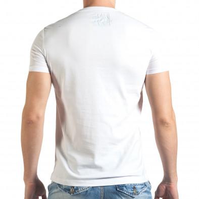 Tricou bărbați Just Relax alb il140416-45 3