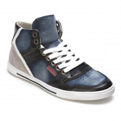 Pantofi sport bărbați Staka albaștri It050216-15 3