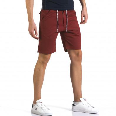 Pantaloni scurți bărbați Marshall roșii it110316-38 4