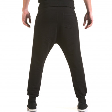 Pantaloni baggy bărbați Franklin negri il170216-139 3