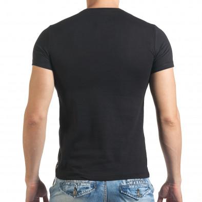 Tricou bărbați Just Relax negru il140416-29 3