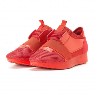 Pantofi sport de dama Anesia roșii it200917-51 3