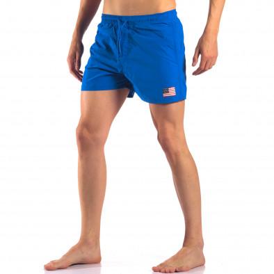 Costume de baie bărbați New Mentality albastru it150616-27 4