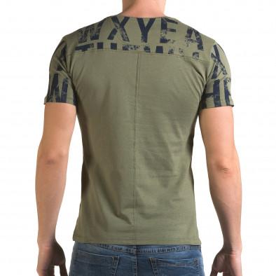 Tricou bărbați Lagos verde il120216-33 3