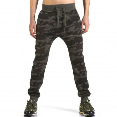 Pantaloni baggy bărbați Dress&GO camuflaj it110316-5 2