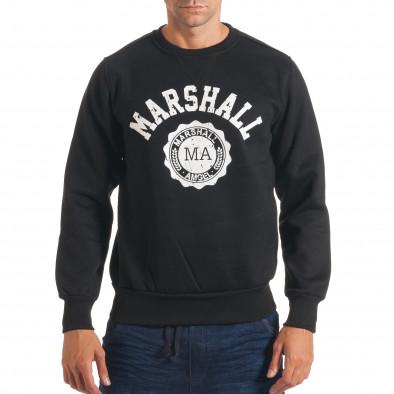 Hanorac bărbați Marshall negru it240816-19 2