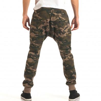 Pantaloni baggy bărbați Furia Rossa camuflaj it191016-19 3