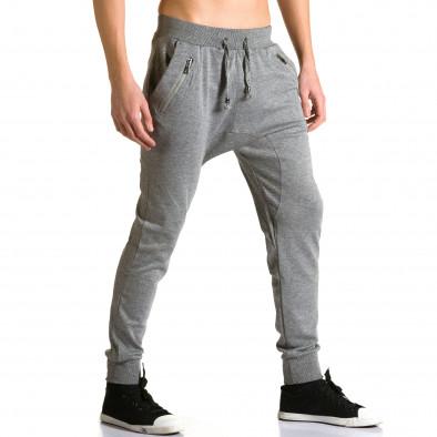 Pantaloni baggy bărbați Furia Rossa gri ca190116-17 4