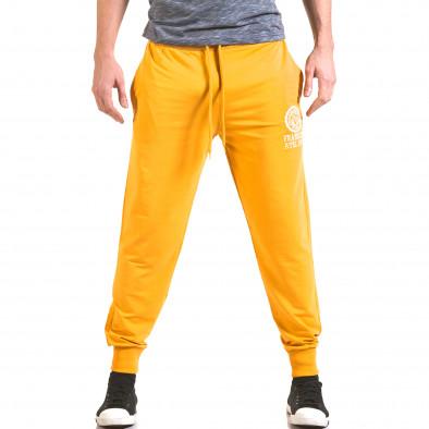 Pantaloni bărbați Franklin galben il170216-133 2