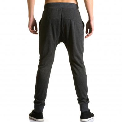 Pantaloni baggy bărbați Furia Rossa negri ca190116-19 3