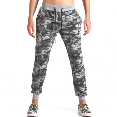 Pantaloni bărbați FM camuflaj it250416-1 2