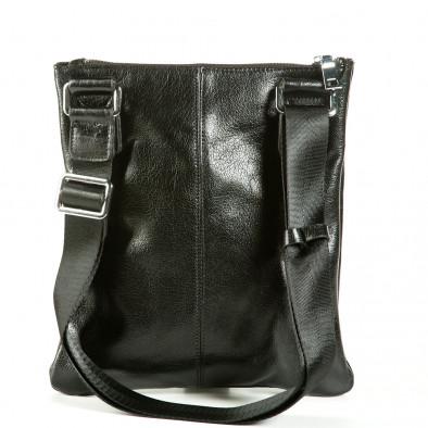 Geanta de umar Fashionmix neagră bărbați 1236-black 3