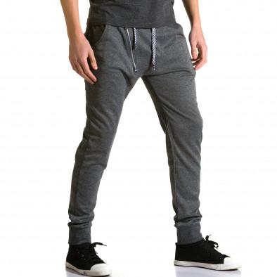 Pantaloni baggy bărbați Furia Rossa gri ca190116-15 4