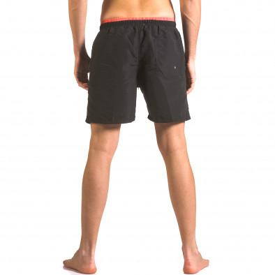 Costume de baie bărbați Yaliishi negru ca050416-23 3