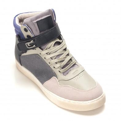 Pantofi sport bărbați Reeca gri it100915-17 3